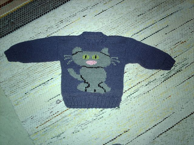 13 best Cat sweaters images on Pinterest | Cat sweaters, Knit ...