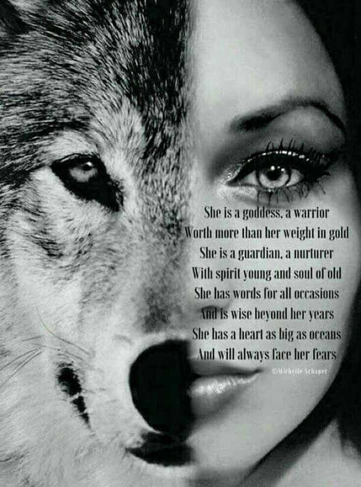 Pin by MH on Alpha Female | Wolf quotes, Warrior quotes ...