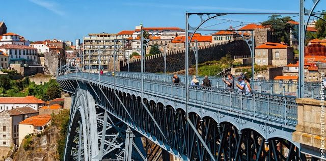 Puente Ponte Luis I, un símbolo de Oporto   Turismo en Portugal (shared via SlingPic)