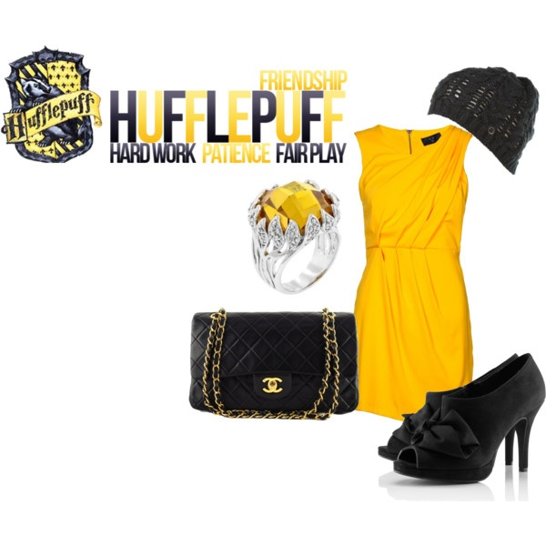 Hufflepuff Outfit Polyvore