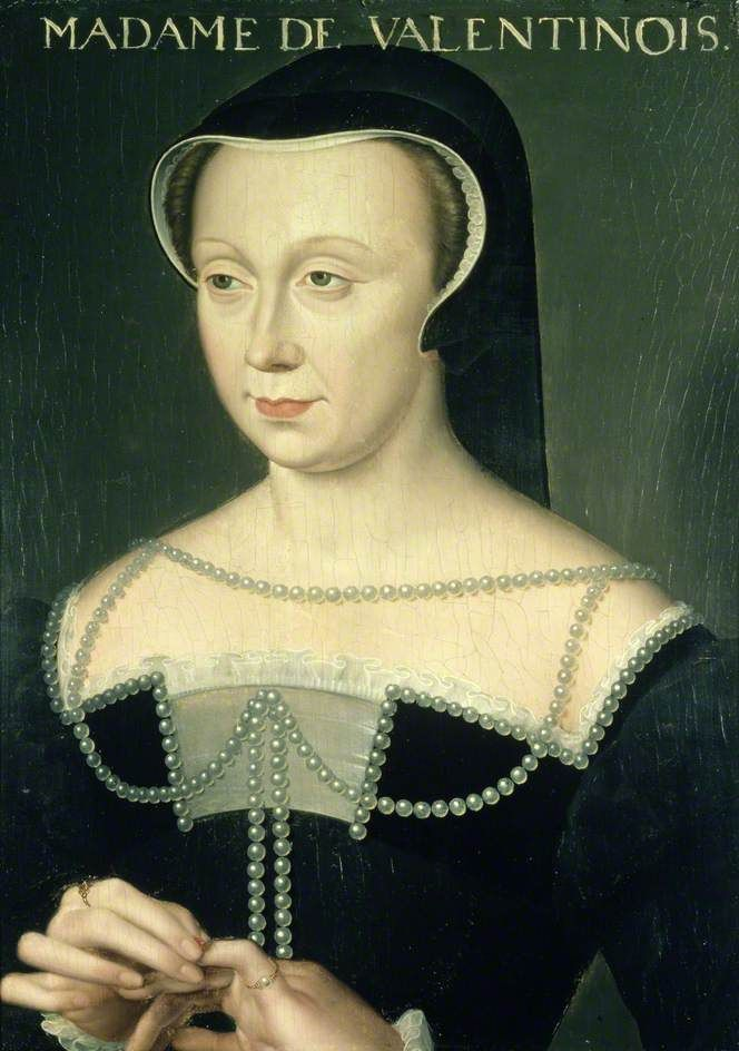 Diane de Poitiers, Duchesse de Valentinois (1499-1566), school of Clouet, after 1547