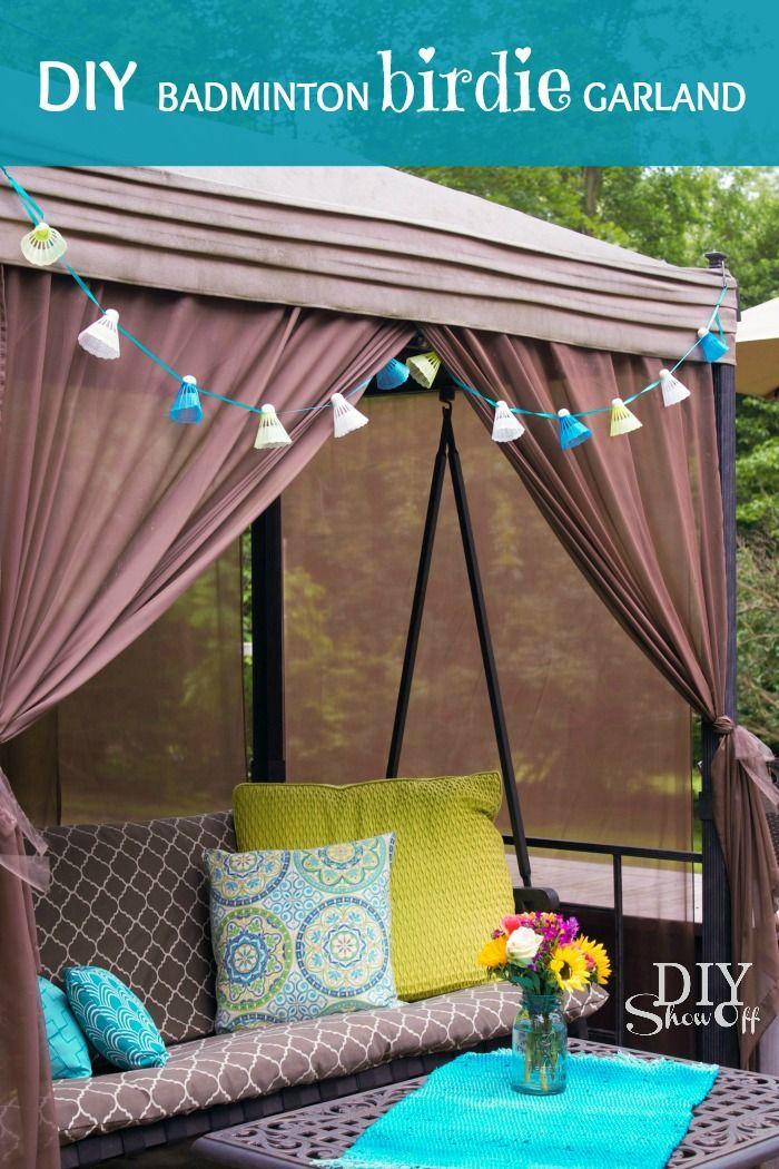 394 Best Outdoor Decor Images On Pinterest   Garden Deco, Outdoor Spaces  And Balconies