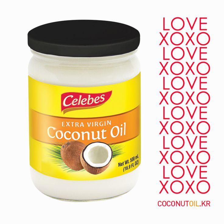 오늘은 사랑하세요 ~ ♡ #발렌타인데이 #valentine 슈퍼푸드 코코넛오일이 건강에 좋은 이유 ☆ 면역성분 라우르산 : 모유의 10배 ☆ 셀레베스 코코넛오일 www.coconutoil.kr