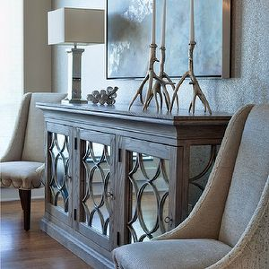 Entry Mirrored Credenza In 2019 Living Room Decor Decor