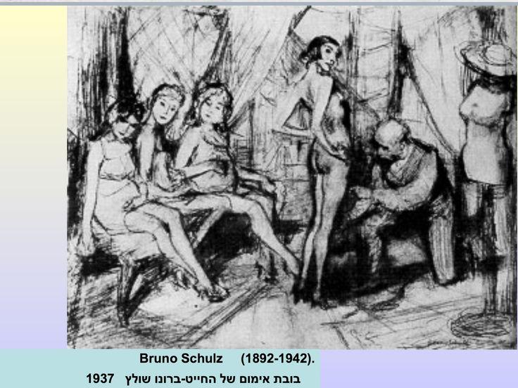 Poupées 1937 par Bruno Schultz