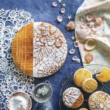 Sablé breton et sucre glace                                                                                                                                                                                 Plus