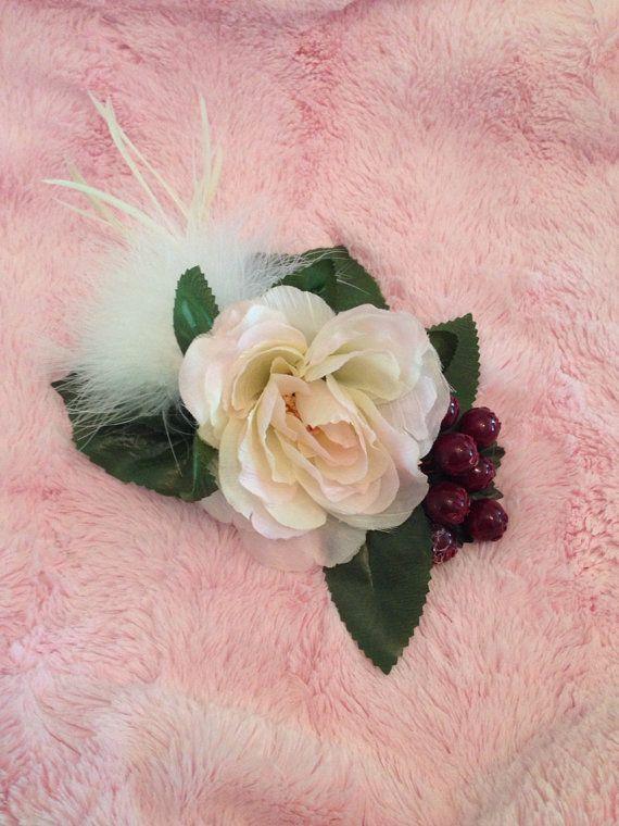 Rockabilly Pinup Showgirl Flowers