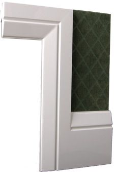Colonial Architraves, Mouldings & Skirting Profiles, RG skirting with RG architrave.
