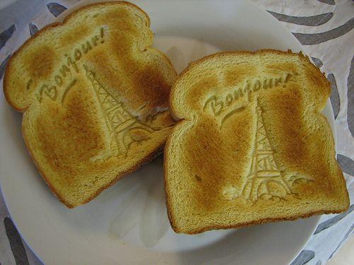 Toasts Paris