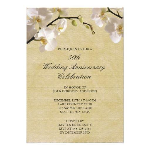 Wedding Anniversary Program Ideas: 17 Best Images About 50th Golden Anniversary On Pinterest