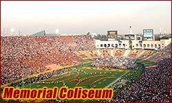 Los Angeles Memorial Coliseum, Home of the awesome USC Trojans!!