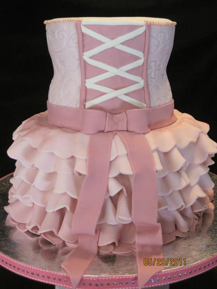 Best Ballerina Birthday Images On Pinterest Ballerina - Ballet birthday cake