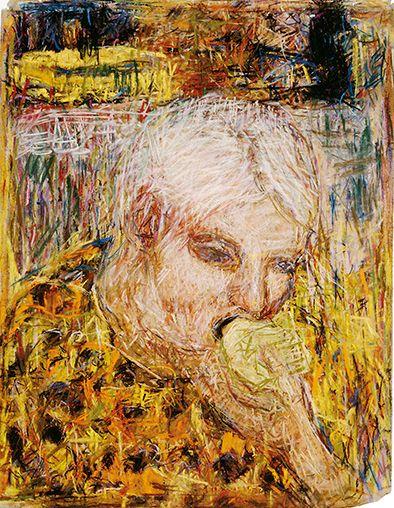 Rafael Wardi, Yksin, 1999, Helsingin taidemuseo. Kuva: Helsingin taidemuseo, Hanna Rikkonen.