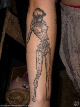 Salvador Dali Tattoos