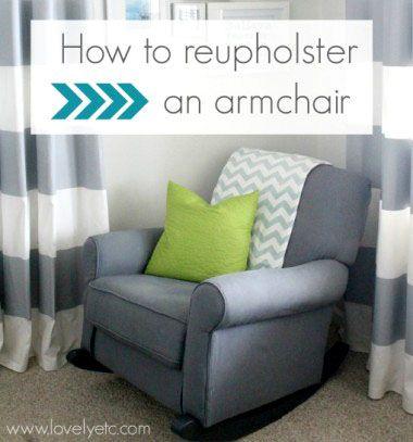 How to reupholster an armchair // Kárpitozás házilag - egy fotel megújulása // Mindy - craft & DIY tutorial collection