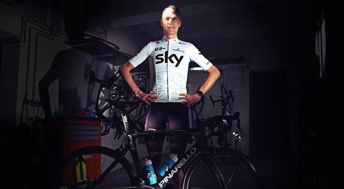 Como era de se esperar, o Team Sky usará camisas brancas da edição especial para o Tour de France 2017,novo uniforme foi revelado na última quinta-feira, 1 de junho.   #bike #ciclismo #ciclismo de estrada #Tour de France #tour de france 2017