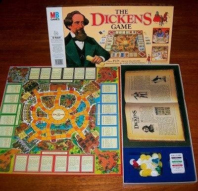 THE DICKENS GAME | Board Game by MB Games | Vintage Board Games & Classic Retro Antique Toys at VINTAGE PLAYTIME