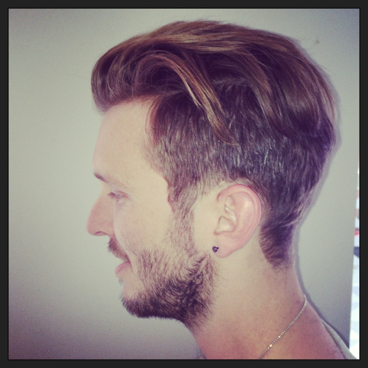Men's hair // This is my fave haircut on a boy. Jef Holm first made me fall in love with it.