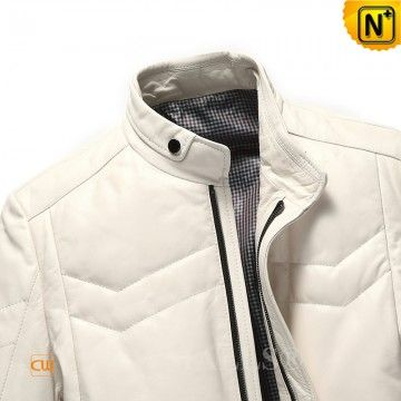CWMALLS® Custom Leather Jackets Down Filled CW807037