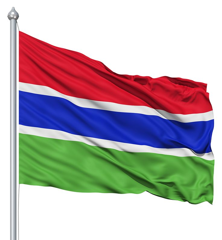 Gambia Flag colors - Gambia Flag meaning history