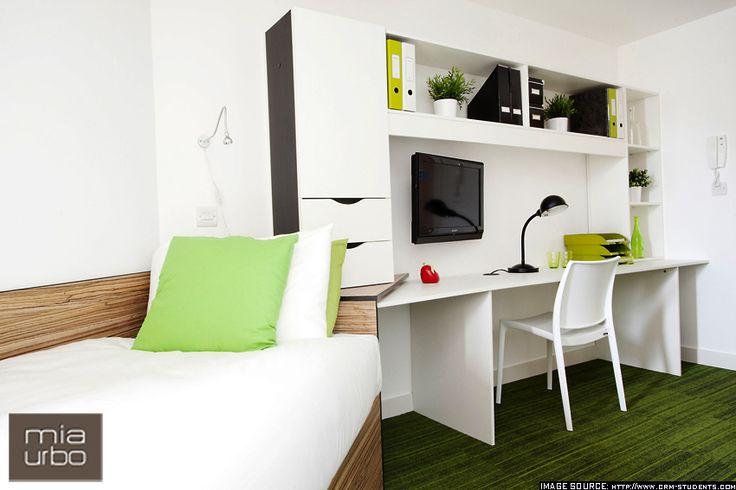 Furniture Design_The Curve_ 01_London_ Student Accomodation