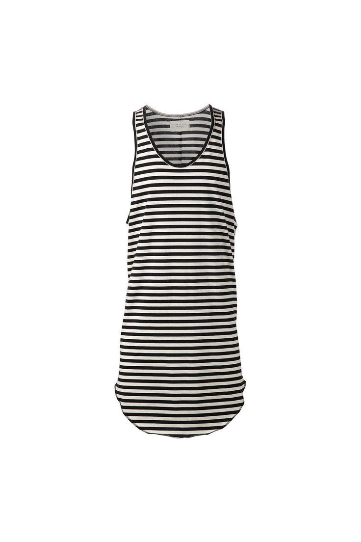 {Fear of God / 01 clothing / 04 knitwear / 02 tank top} Striped Long Tank Top