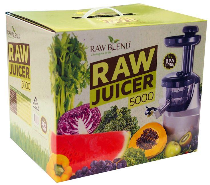 Raw Blend - Raw Juicer 5000 (Raw Blend), $349.00 (http://shop.rawblend.com.au/raw-juicer-5000-raw-blend/)