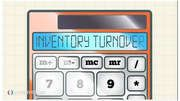 How do I calculate the inventory turnover ratio?