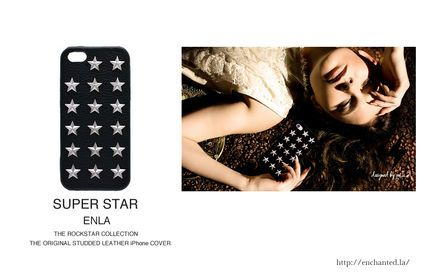 STAR STUDDED LEATHER COVER