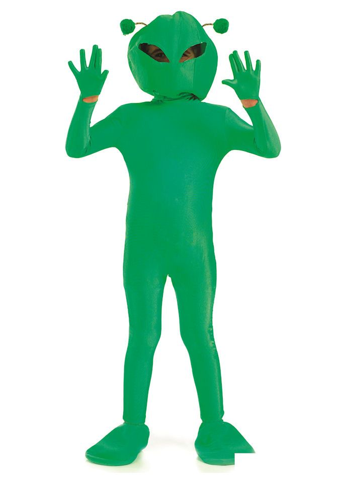 Alien Boy childrens dress up costume by Fun Shack