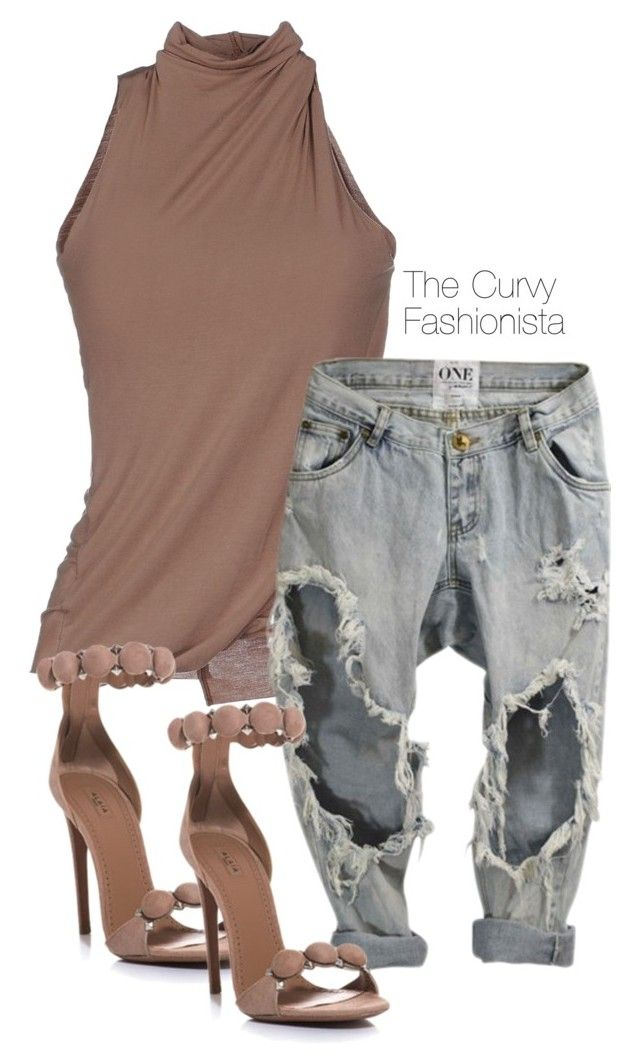 """""""Untitled #370"""" by thecurvyfashionista ❤ liked on Polyvore featuring Manila Grace and Tom Ford"""