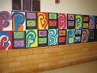 5th grade Koru paintings