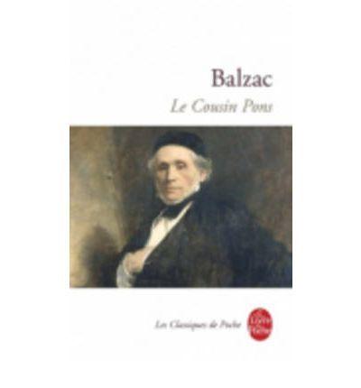 Le Cousin Pons : Honore de Balzac : 9782253016717