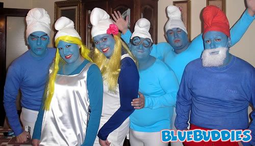 Such a cool costume, check out our smurf costumes!  http://www.fancydressshack.co.uk/Hen-Night-and-Stag-Do-Fancy-Dress-Stag-Do-Costumes-Smurf-Costume/5324-PD/default.html