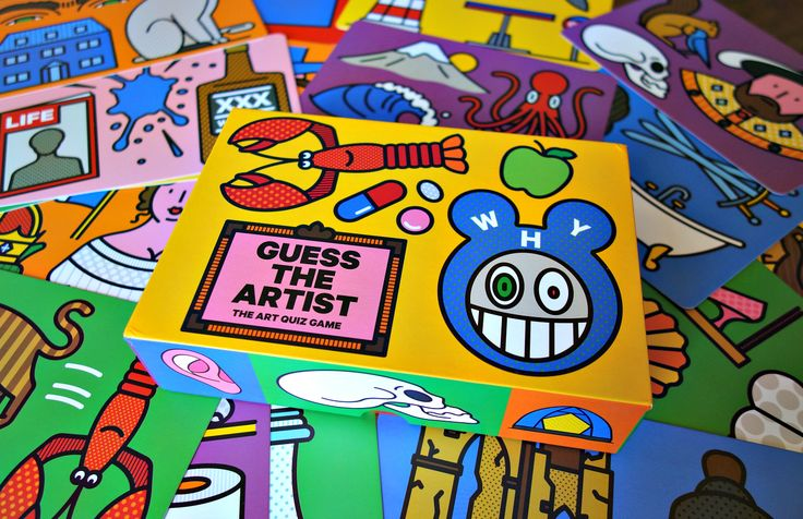 """Guess the Artist: The Art Quiz Game"" by Craig Redman and Karl Maier (photo by the author for Hyperallergic)"