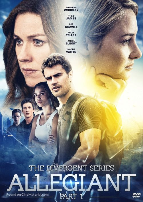 The Divergent Series: Allegiant  movie cover
