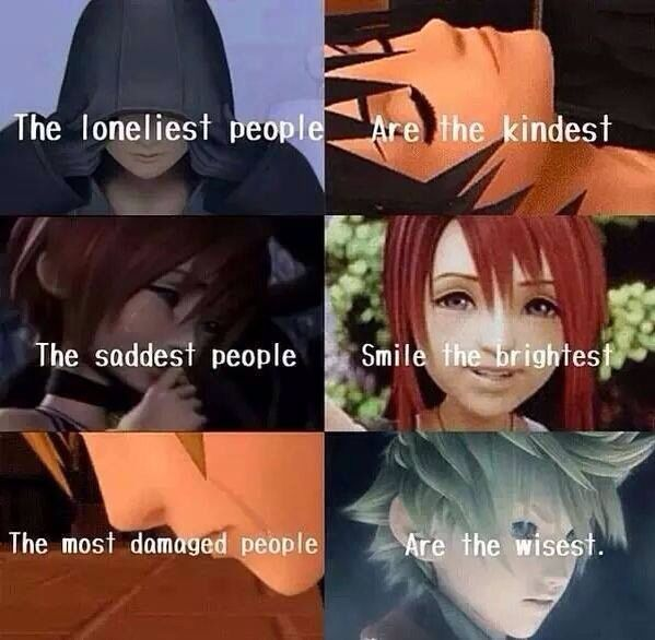 Kingdom hearts quote ~