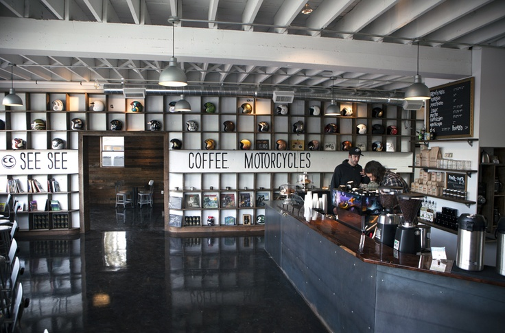 See See Motor Coffee Co. / 1642 NE Sandy Blvd Portland OR