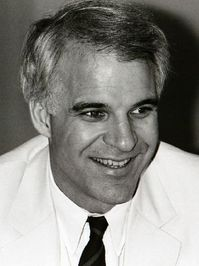 """Steve Martin:  """"A day without sunshine is like, you know,  night."""""""