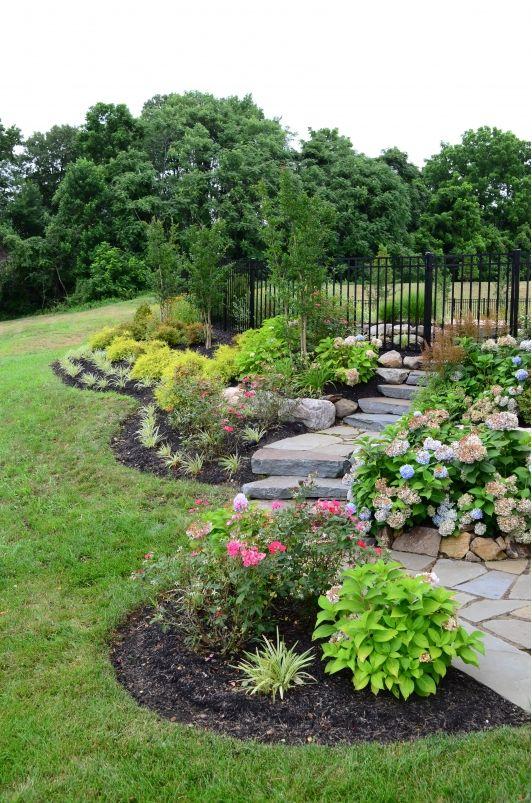 very pretty backyard gardens garden ideas pinterest