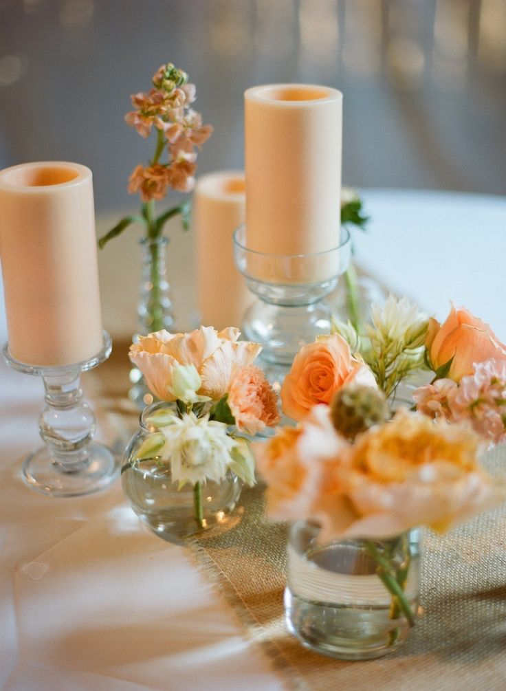 374 Best Aa Orange Yellow Tablescapes Weddings Images On