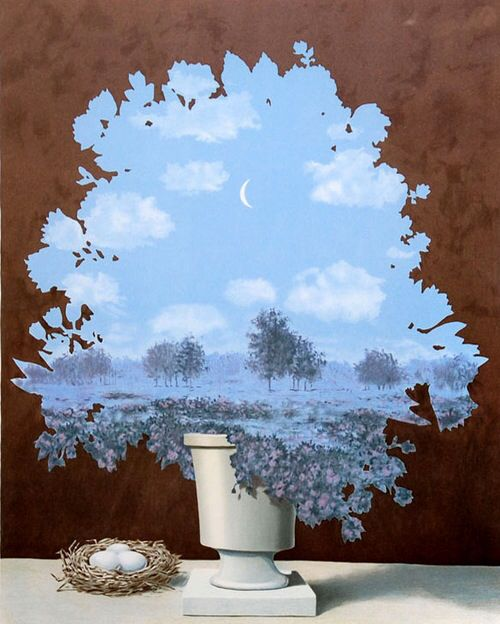 Rene Magritte - The Country of Marvels ✏✏✏✏✏✏✏✏✏✏✏✏✏✏✏✏ ARTS ET PEINTURES - ARTS AND PAINTINGS ☞ https://fr.pinterest.com/JeanfbJf/pin-peintres-painters-index/ ══════════════════════ Gᴀʙʏ﹣Fᴇ́ᴇʀɪᴇ ﹕☞ http://www.alittlemarket.com/boutique/gaby_feerie-132444.html ✏✏✏✏✏✏✏✏✏✏✏✏✏✏✏✏