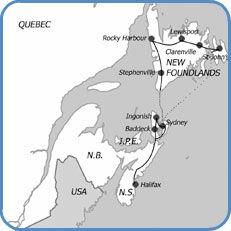 The Cape Breton and Newfoundland Experience -Autotour -Canada Atlantique