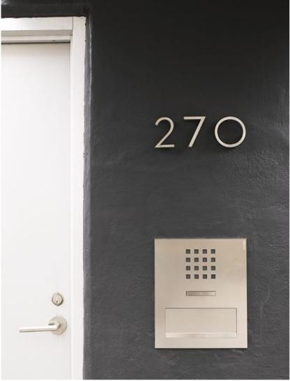 Best 25 House numbers modern ideas on Pinterest