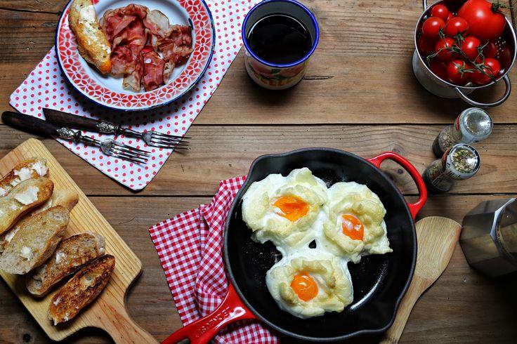 Hoje para jantar ...: Ovos fofos