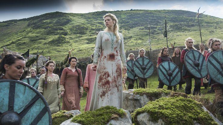 Katheryn Winnick as Lagertha (Photo credit: Bernard Walsh)