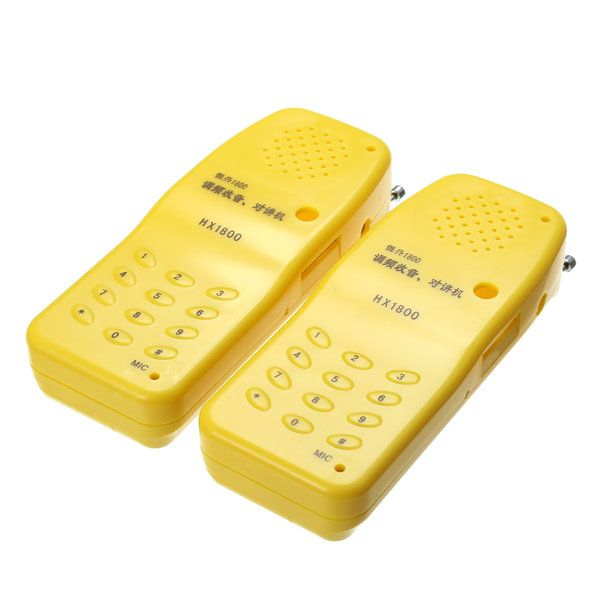 2Pcs DIY FM Radio Wireless Interphone Radio Electronic Kit