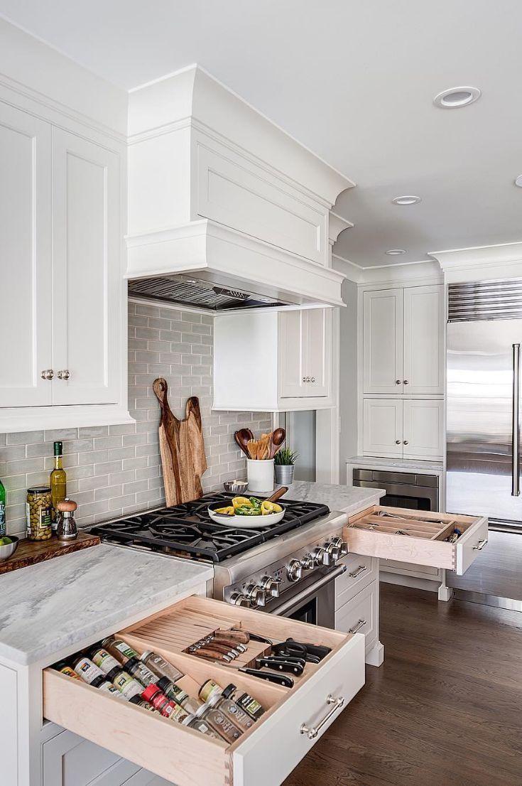 45 Sleek Inspiring Contemporary Modern Kitchen Design Ideas New 2019 Page 15 Of 46 Clear Crochet Contemporary Modern Kitchen Modern Kitchen Design Popular Kitchen Designs