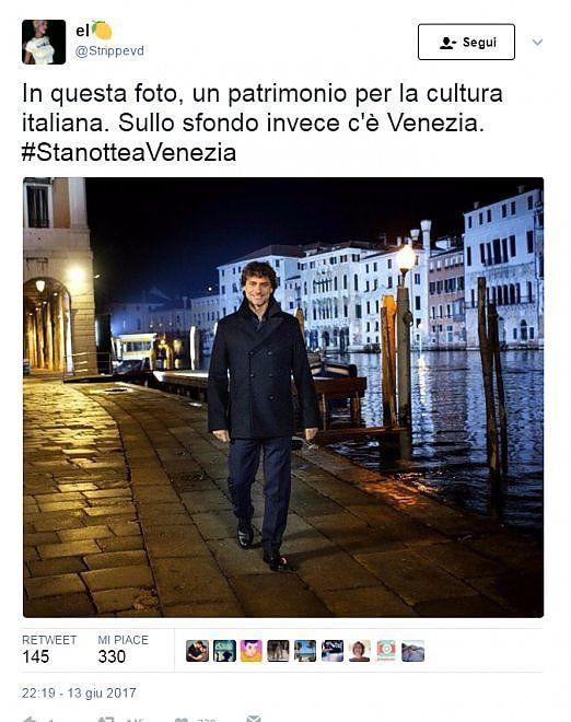 Tutti pazzi per Alberto Angela.La trasmissione 'Stanotte a Venezia' è stata vista da quasi 5 milioni di spettatori, il tema è stato