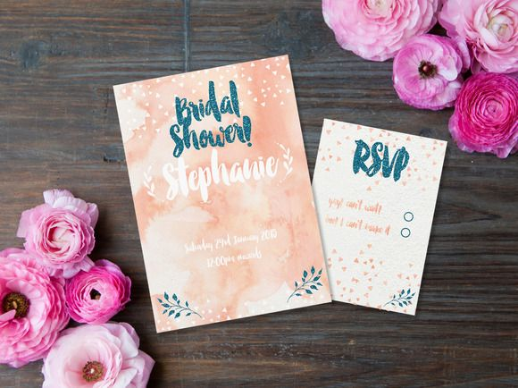 Bridal Shower Printable by Confetti Collective